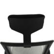 Irodai szék, világosszürke/fekete, DAKIN