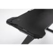 PC asztal/gamer asztal, fekete, JADIS