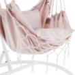 Függő fotel, rózsaszín, OFRAME