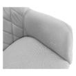 Fotel, szürke/bükk, EKIN