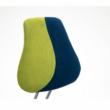 Állítható forgószék, zöld/kék, RAIDON