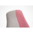 Állítható forgószék, szürke/rózsaszín, RAIDON