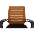 Irodai szék, narancssárga/fekete, LIZBON NEW