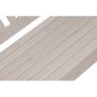 Fából készült kerti pad, szürke, 150 cm, FABLA