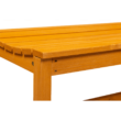 Fából készült kerti pad, természetes/bézs, 120 cm, VEATA