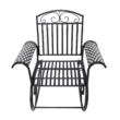Kerti hinta fotel, fekete, SAIDI