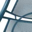 Függő fotel, kék/türkiz, TALISE
