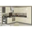 Magas élelmiszer szekrény, fehér magasfényű, PRADO 40 DK-210 2F