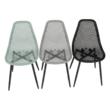 Étkező szék, zöld/fekete, TEGRA TYP 2