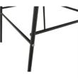 Bárszék, sötétszürke anyag/fém, MARIOLA 2 NEW