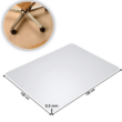 Védőalátét a szék alá, átlátszó, 120x120 cm, 0,8 mm, ELLIE NEW TYP 8