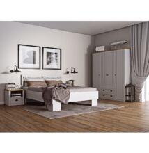 Hálószoba szett, erdei fenyő Andersen / lefkas tölgyfa, PROVANCE
