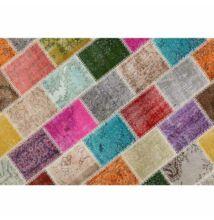 ADRIEL szőnyeg 80x300 cm, szín:  többszinű patchwork