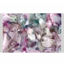 Szőnyeg, rózsaszín/zöld/krém/minta, 180x270, DELILA