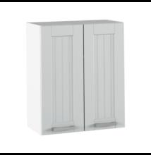 Felső szekrény, világosszürke/fehér, JULIA TYP 6
