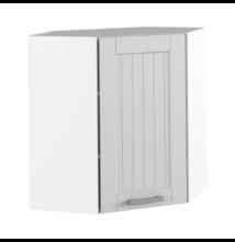 Felső szekrény, világosszürke/fehér, JULIA TYP 10