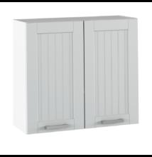 Felső szekrény, világosszürke/fehér, JULIA TYP 11