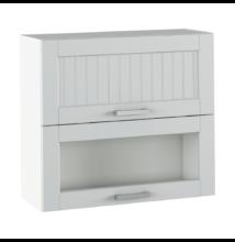 Felső szekrény, világosszürke/fehér, JULIA TYP 13