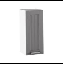 Felső szekrény, sötétszürke/fehér, JULIA TYP 2