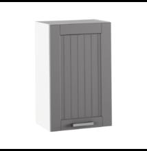 Felső szekrény, sötétszürke/fehér, JULIA TYP 5
