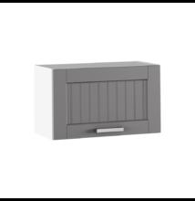 Felső szekrény, sötétszürke/fehér, JULIA TYP 9