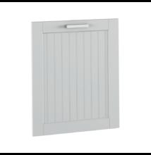 Mosogatógepre való ajtó 60, világosszürke, JULIA TYP 59