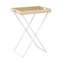 Tálalóasztal, natúr/fehér, BELENE