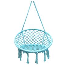 Függő szék, pamut+fém/menta, AMADO 2 NEW