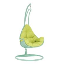 Függő fotel, neomint/zöld, TALISE