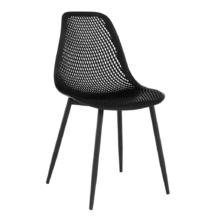 Étkező szék, fekete, TEGRA TYP 2