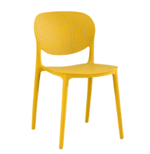 Rakásolható szék, sárga, FEDRA NEW