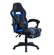 Irodai/gamer szék, kék/fekete, GUNNER