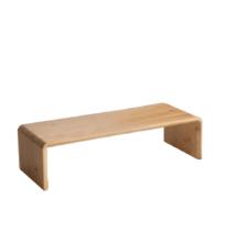 Monitor állvány, bambusz, természetes, ELARO TYP 1