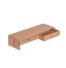 Monitor állvány, bambusz, természetes, ELARO TYP 2