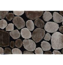 Szőnyeg, barna/fekete, 200x300 , PEBBLE TYP 2