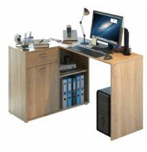 Sarok PC asztal, tölgy sonoma, KALIMERO