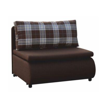 Fotel ágyfunkcióval, barna, KENY NEW