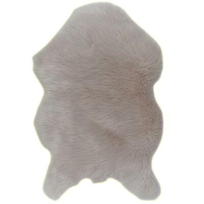 EBONY TYP2 műszőrme szőnyeg, 60x90, bézs.