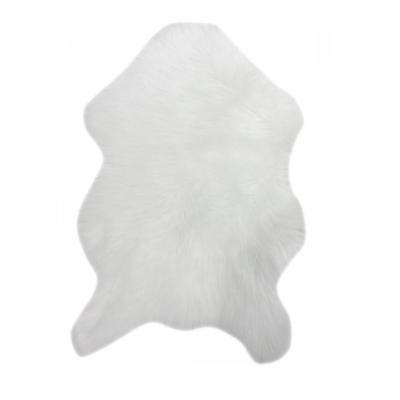 EBONY TYP1 műszőrme szőnyeg, fehér, 60x90