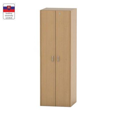 Akasztós szekrény lakattal, bükk, TEMPO ASISTENT NEW 005