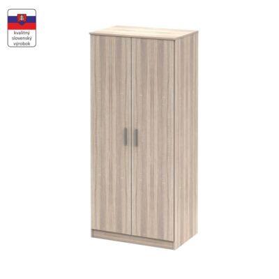 Akasztós szekrény, tölgy sonoma, NOKO-SINGA 80