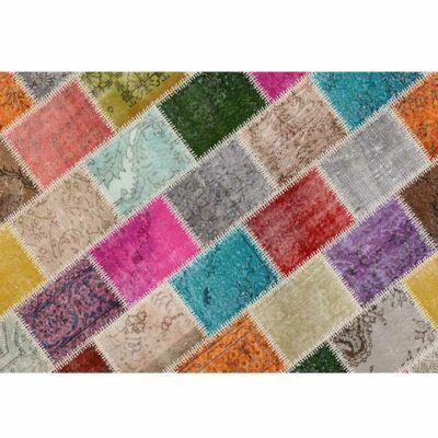 Szőnyeg, többszínű, 80x150, ADRIEL