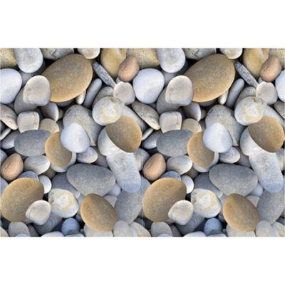 Szőnyeg, többszínű, kő mintájú,  80x200, BESS