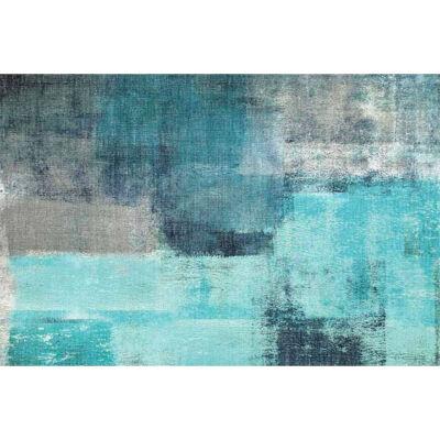 Szőnyeg kék/szürke, 160x230, ESMARINA TYP 2