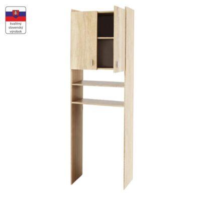 Praktikus szekrény - sonoma tölgy, mosógép szekrény, NATALI