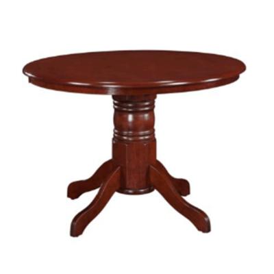 Étkezőasztal, kerek, gesztenye, TABLOS