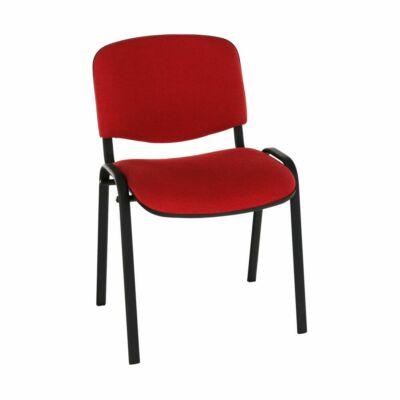 Irodai szék, piros, ISO NEW