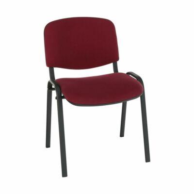Irodai szék, bordó, ISO NEW