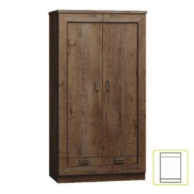 Akasztós szekrény, tölgyfa lefkas, TEDY TYP T7