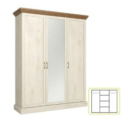 szekrény, északi sosna/ vadtölgy, ROYAL S3D
